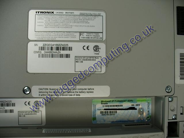 Itronix VAS5054A diagnostic laptop MS License