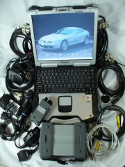 DEALER GERMAN DIAGNOSTIC KIT +  PANASONIC TOUGHBOOK CF-29 LAPTOP