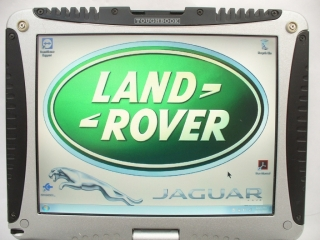 LAND ROVER & JAGUAR   DIAGNOSTICS + PANASONIC TOUGHBOOK CF-18