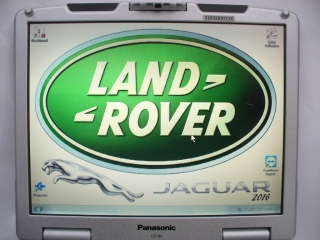 LAND ROVER & JAGUAR   DIAGNOSTICS + PANASONIC TOUGHBOOK CF-30